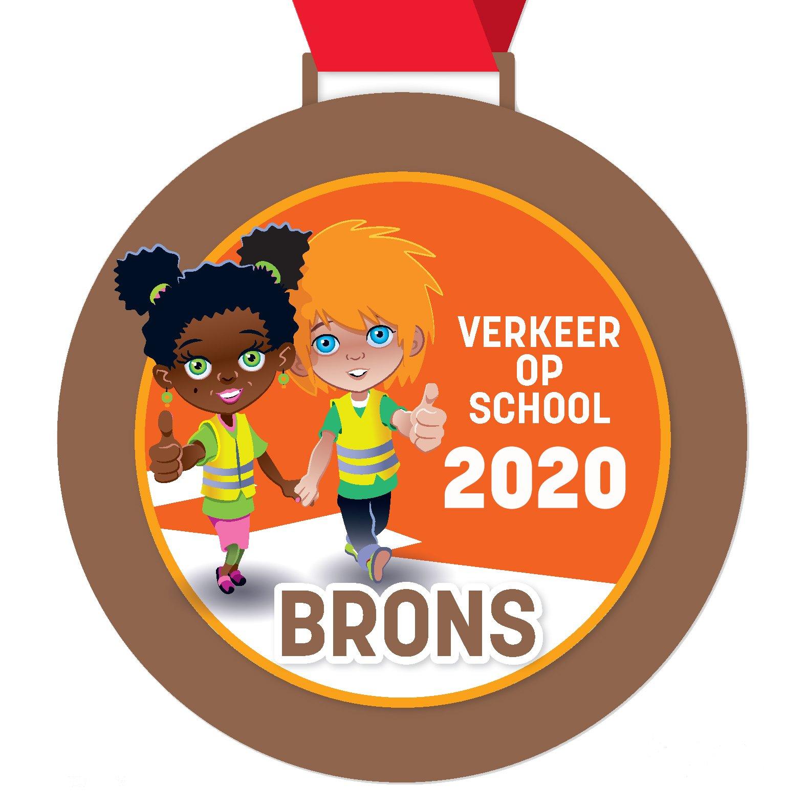 Hartencollege Buitengewoon Lager Onderwijs Ninove bekroond met Verkeer op School-medaille